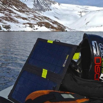 solar panel charger sustainable travel